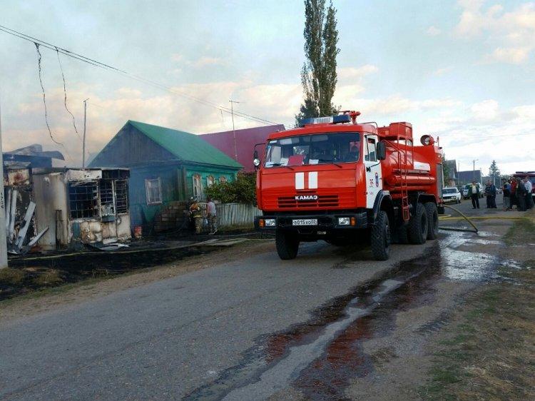 ВБашкирии сгорело два дома: трое детей получили разной степени ожоги