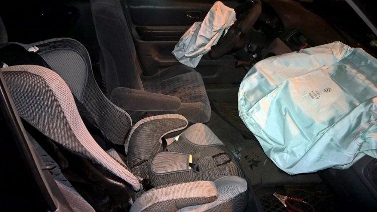 3-х летний парень попал в клинику из-за подушки безопасности