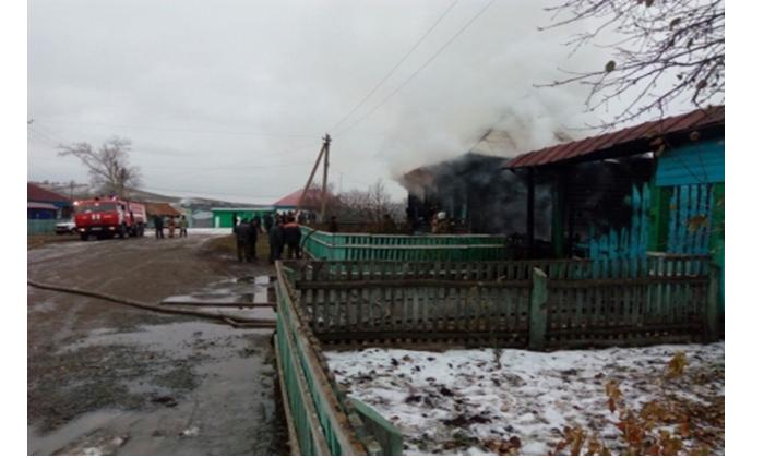 ВБашкирии семья из 3-х человек живьем сгорела при пожаре