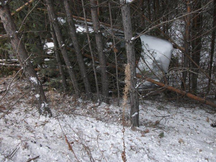 На автотрассе вБашкортостане «ВАЗ» вылетел вкювет, погибла пассажирка