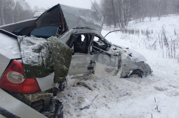 Печальное ДТП вБашкирии: легковушка столкнулась сфурой, умер шофёр