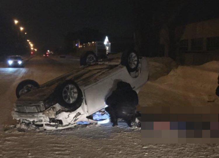 ВБашкирии перевернулся автомобиль «Geely»: погибла девушка-пассажир