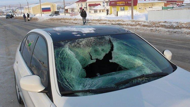 ВБашкирии шофёр БМВ насмерть сбил пешехода