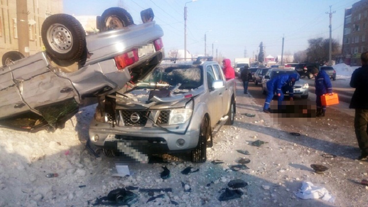 Смертоносная  авария вБашкирии: умер  старый  пешеход