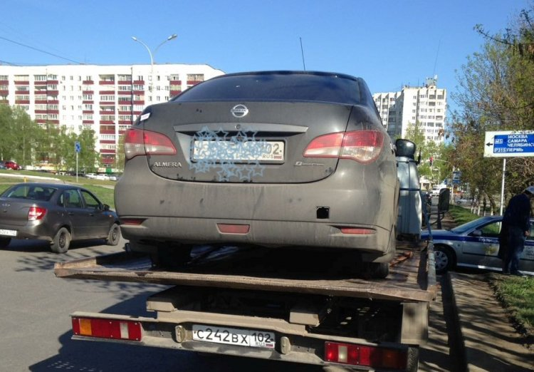 ВУфе владелица автомобиля накопила 318 штрафов