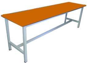 Скамейки для раздевалки на металлокаркасе от Юнона мебель