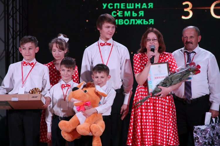 Семья изМордовии— вчисле победителей окружного фестиваля «Успешная семья Приволжья»
