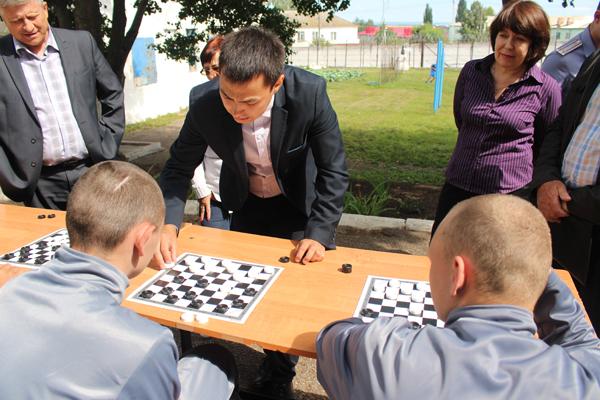 Чемпионы мира посетили Стерлитамакскую воспитательную колонию