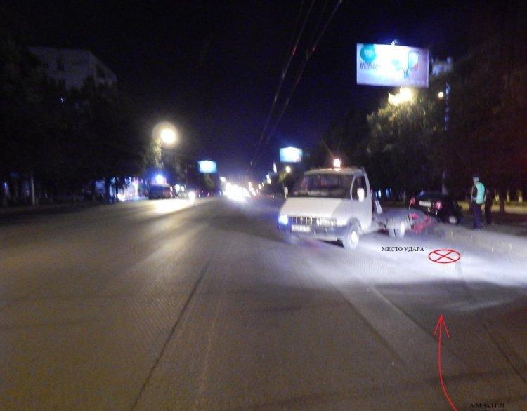 В Уфе автомобиль сбил 24-летнего парня