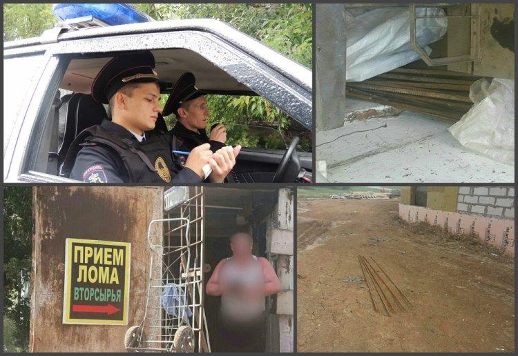 В Уфе сотрудники Росгвардии задержали подозреваемых в краже 300 кг строительной арматуры
