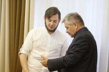 Михаил Закомалдин встретился с молодыми новаторами Башкортостана