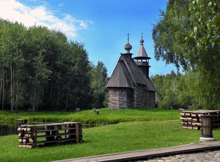 Достопримечательности Костромы: Костромская слобода
