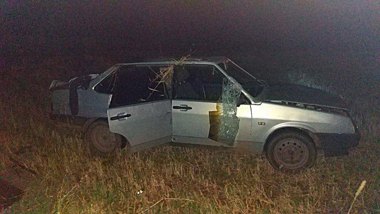 В Башкирии автомобиль насмерть сбил женщину и опрокинулся в кювет