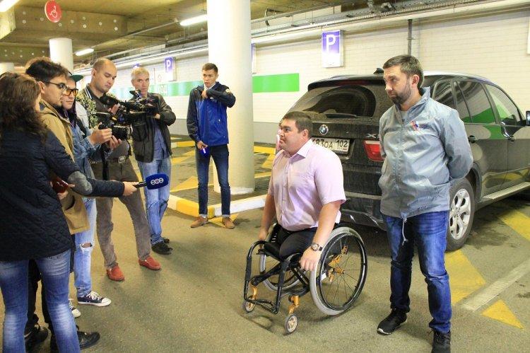 Активисты ОНФ в Башкортостане проверили правила парковки на местах для инвалидов
