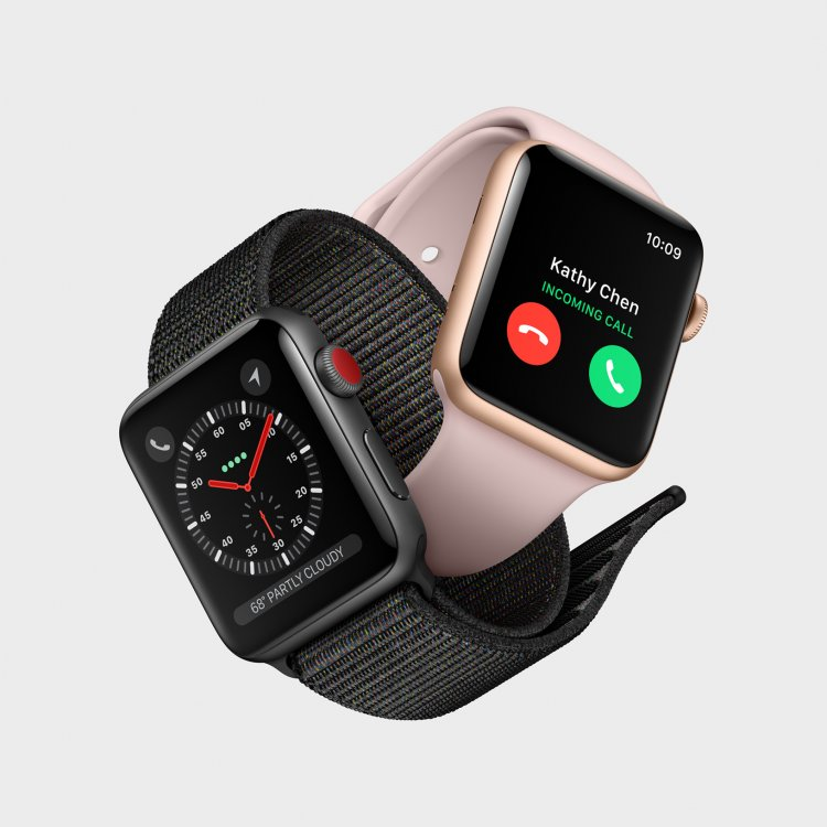 Компания Apple представила Apple Watch Series 3