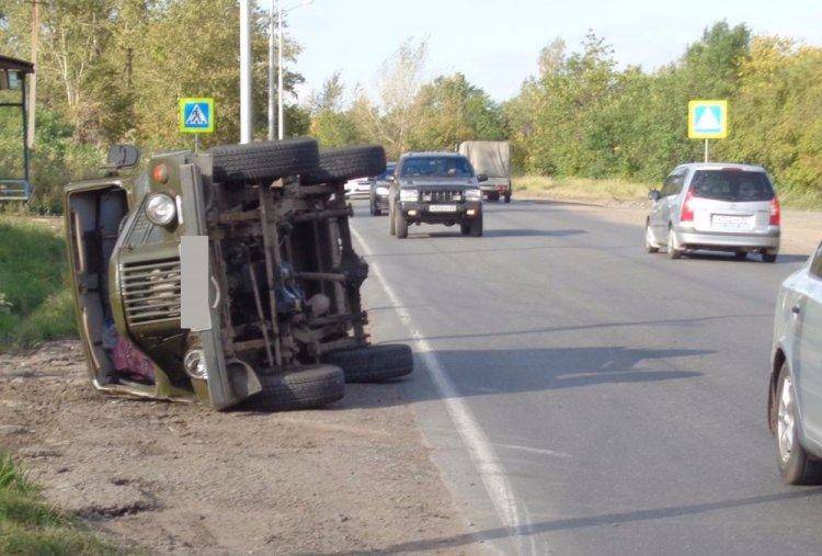 В Башкирии автомобиль насмерть сбил пешехода и опрокинулся