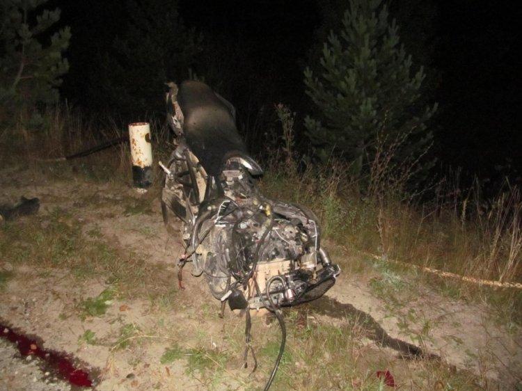Смертельное ДТП в Башкирии:  мотоцикл врезался в Lada Kalina