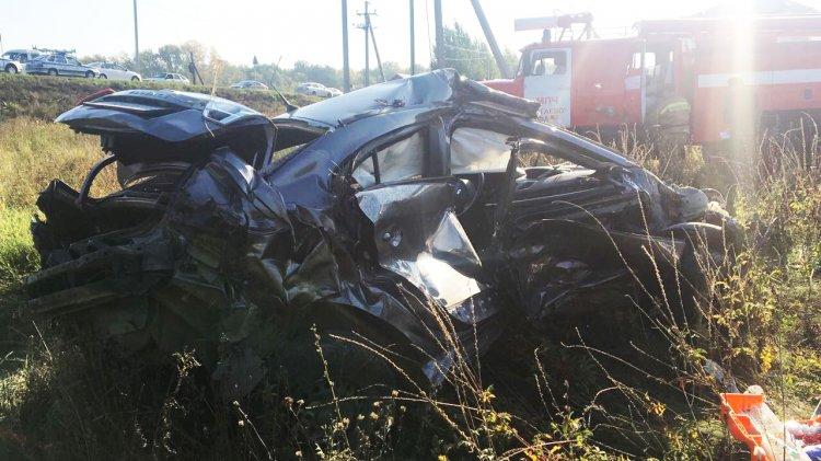 В Уфе разыскали водителя Touareg, проскочившего ж/д переезд перед смертельным ДТП