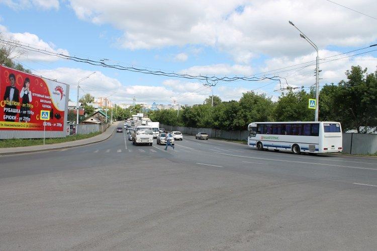 Активисты ОНФ добились демонтажа аварийно- опасного пешеходного перехода в Уфе