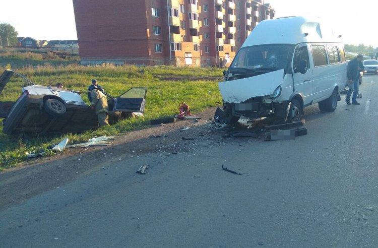 ВБашкирии девятнадцатилетний шофёр насмерть протаранил менявшего колесо водителя