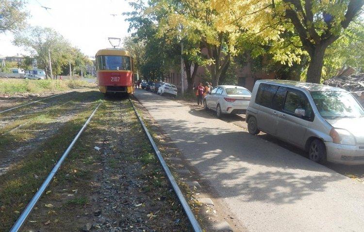 В Уфе 6-летний ребенок попал под трамвай