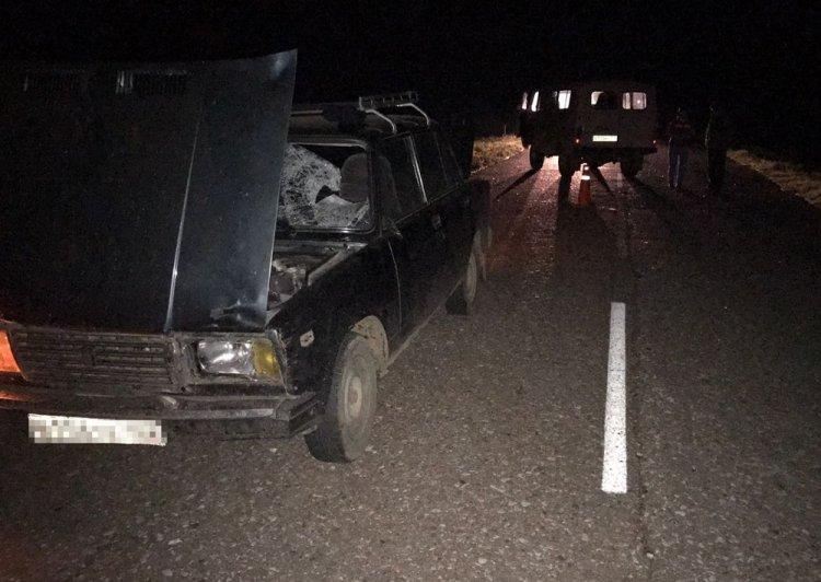 В Башкирии машина насмерть сбила 81-летнего пенсионера, идущего по середине дороги
