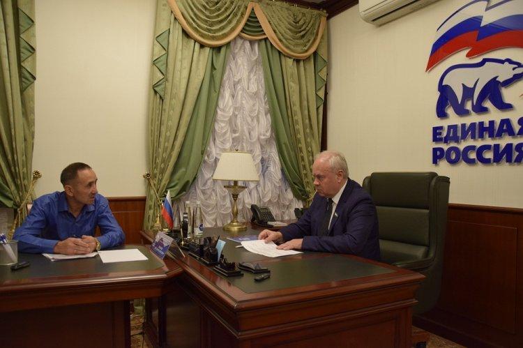 Константин Толкачев окажет содействие в вопросе строительства моста в Белорецком районе