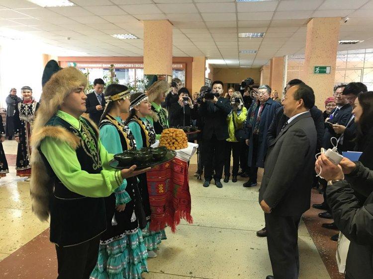 Стерлитамак посетила делегация из Китая