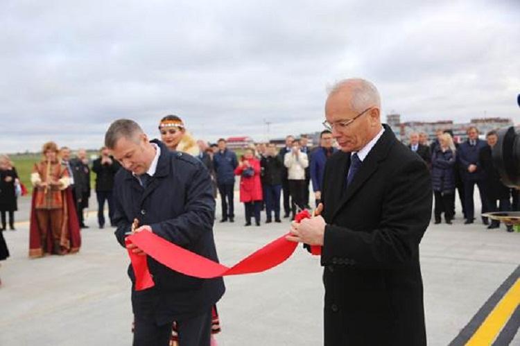 В аэропорту «Уфа» после капитальной реконструкции введен в эксплуатацию аэродром