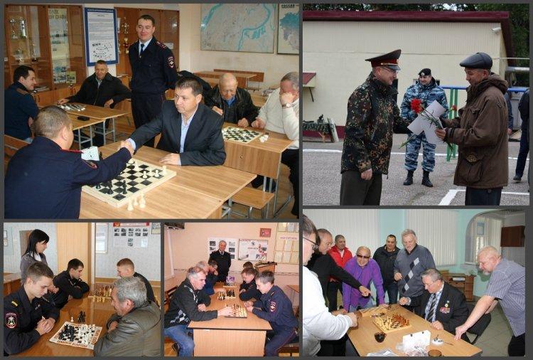 В День добра и уважения башкириские росгвардейцы сыграли с ветеранами в шахматы