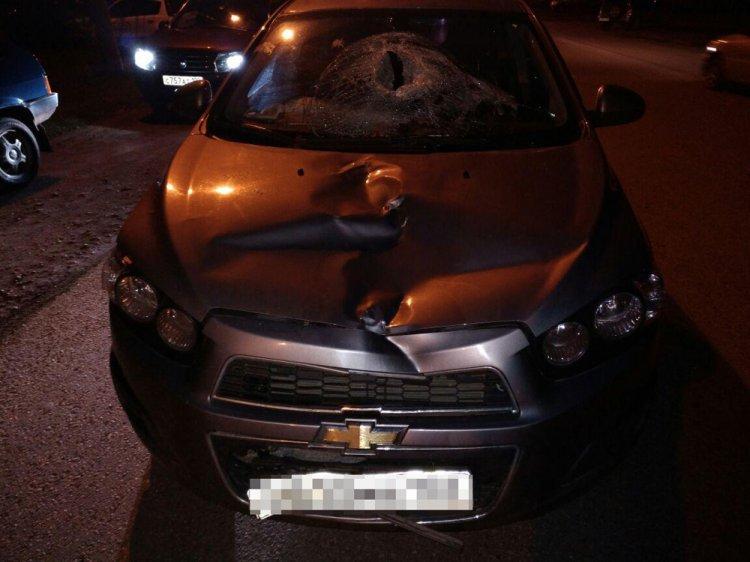 В Стерлитамаке водитель на Chevrolet Aveo насмерть сбил 64-летнего мужчину
