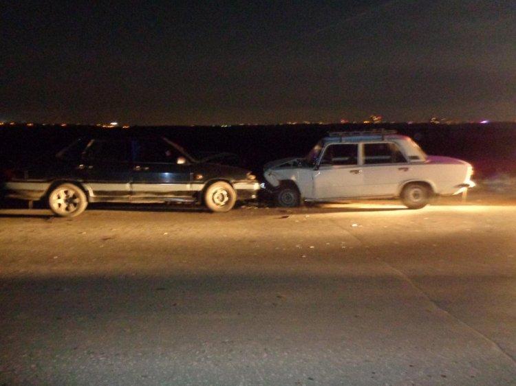 В Уфе пьяный и лишенный прав водитель ВАЗ-2115 протаранил ВАЗ-2101