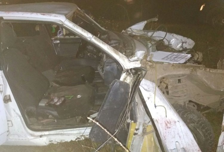 В Башкирии опрокинулся ВАЗ-21099: погибли юноши 16 и 18 лет
