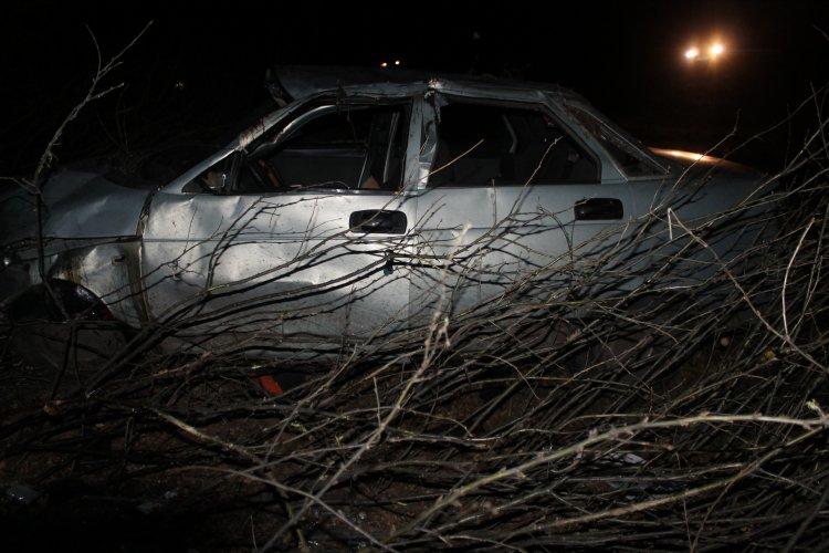 В Башкирии опрокинулся ВАЗ-2110, есть жертвы
