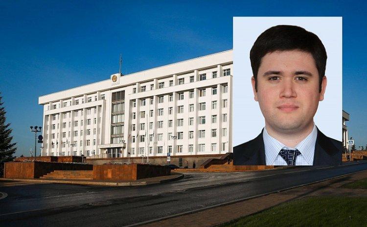 Ринат Шагалин назначен Управляющим делами Главы Республики Башкортостан