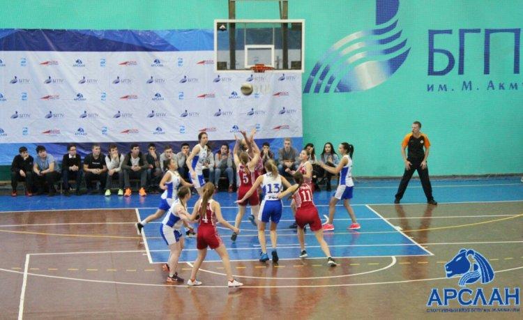 В Уфе стартовал женский чемпионат Ассоциации студенческого баскетбола