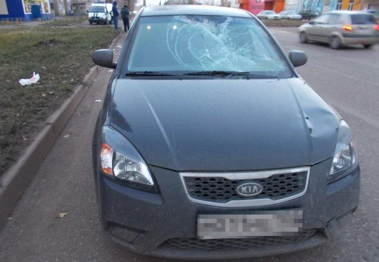 В Салавате водитель на Kia Rio сбил мужчину-пешехода