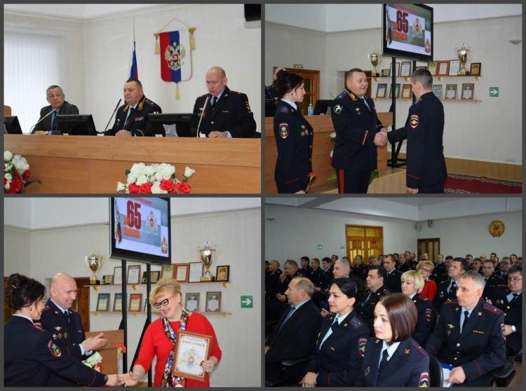 Вневедомственная охрана Росгвардии Башкортостана отметила 65-ю годовщину со дня образования