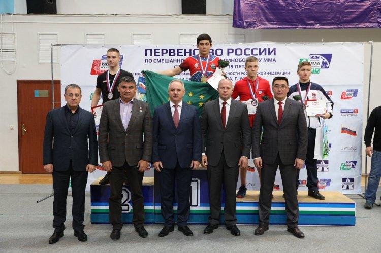 Первое Первенство России по ММА среди юношей 14-15 лет прошло в Уфе