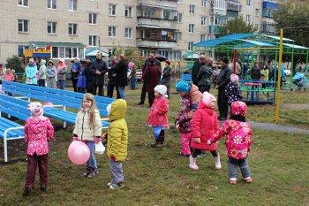В Ермекеевском районе Башкирии открылся обновленный спортзал