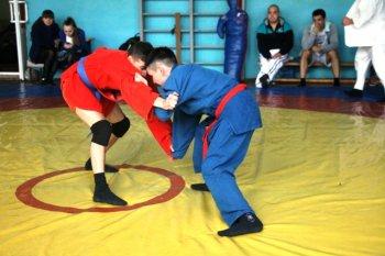 В Стерлитамаке состоялись соревнования по самбо среди сотрудников МВД по РБ