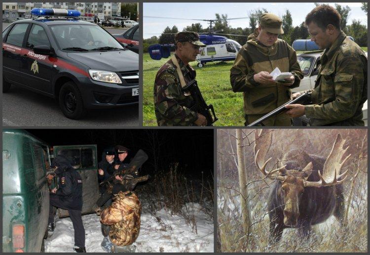 В Башкирии сотрудниками Росгвардии задержан браконьер