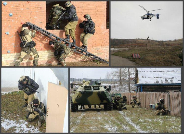 Бойцы спецподразделений Управления Росгвардии по Республике Башкортостан завершили полевой выход