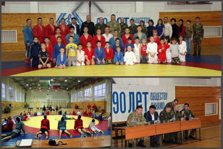 В Уфе для детей сотрудников и военнослужащих Росгвардии провели мастер-класс по вольной борьбе и самбо