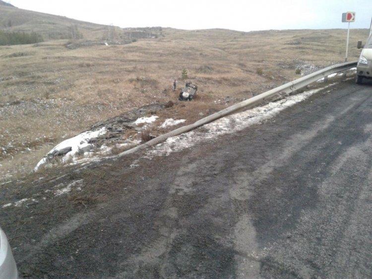 Смертельное ДТП в Башкирии: Hyundai Solaris вылетел в кювет и опрокинулся