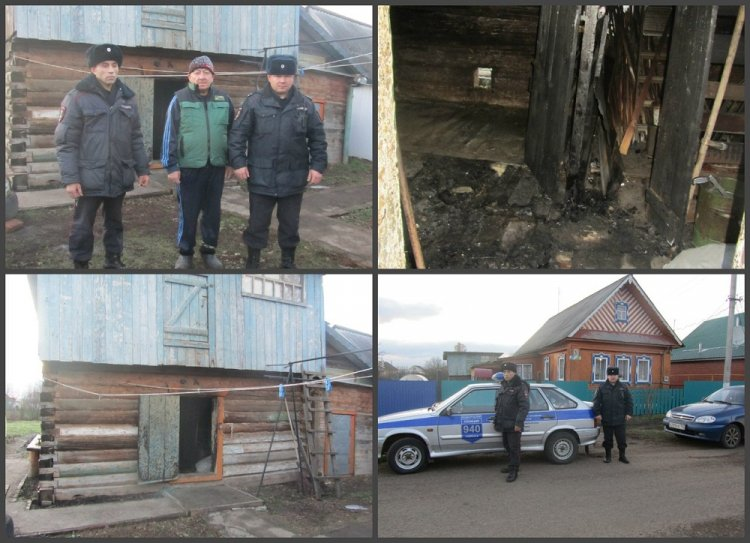 В Башкирии росгвардейцы предотвратили развитие пожара