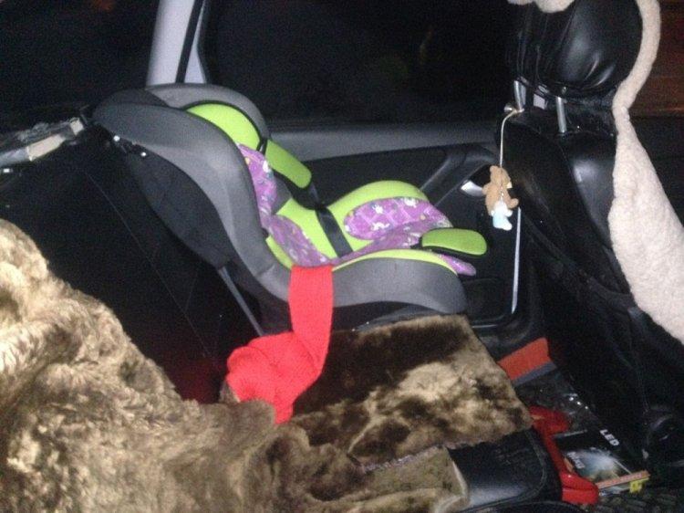Двухлетняя девочка пострадала в ДТП в столице Башкирии