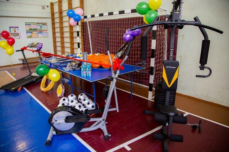 Детям 60% коррекционных школ Башкирии стали доступны занятия на новых спортивных тренажерах