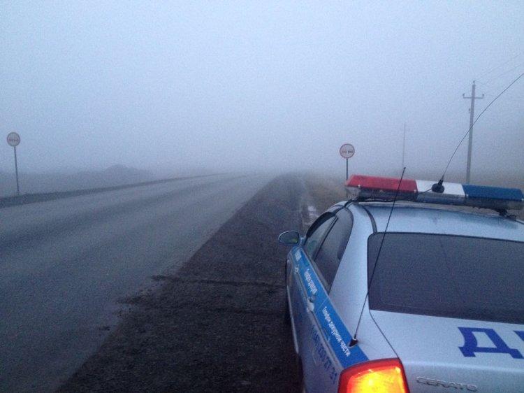 Густой туман в Башкирии: ГИБДД выступила со спецобращением