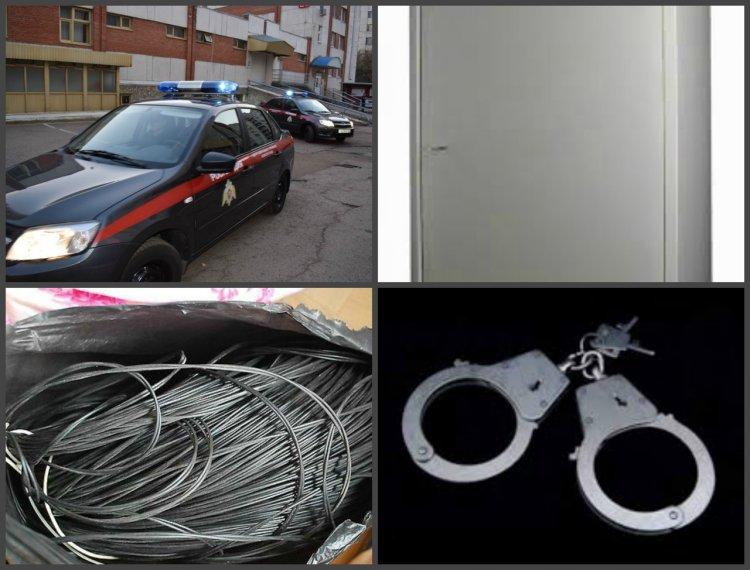 В Уфе росгвардейцы задержали с поличным похитителя телевизионного кабеля
